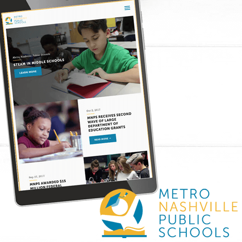 Metro Nashville Public Schools Web Design Case Study for the Website of the Best Web Design in Nashville TN, Horton Group who also provides Nashville SEO, Inbound Marketing and Web Support.