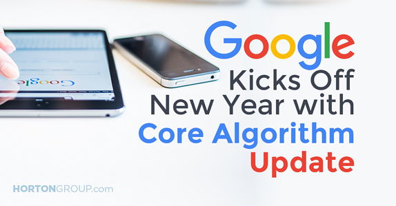 Google Kicks Off New Year with Core Algorithm Update