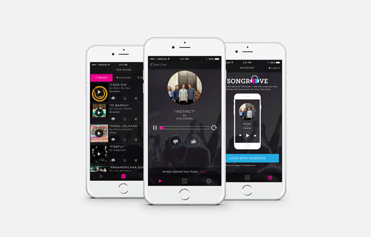 Music Discovery App for Independent Artists Thumbnail