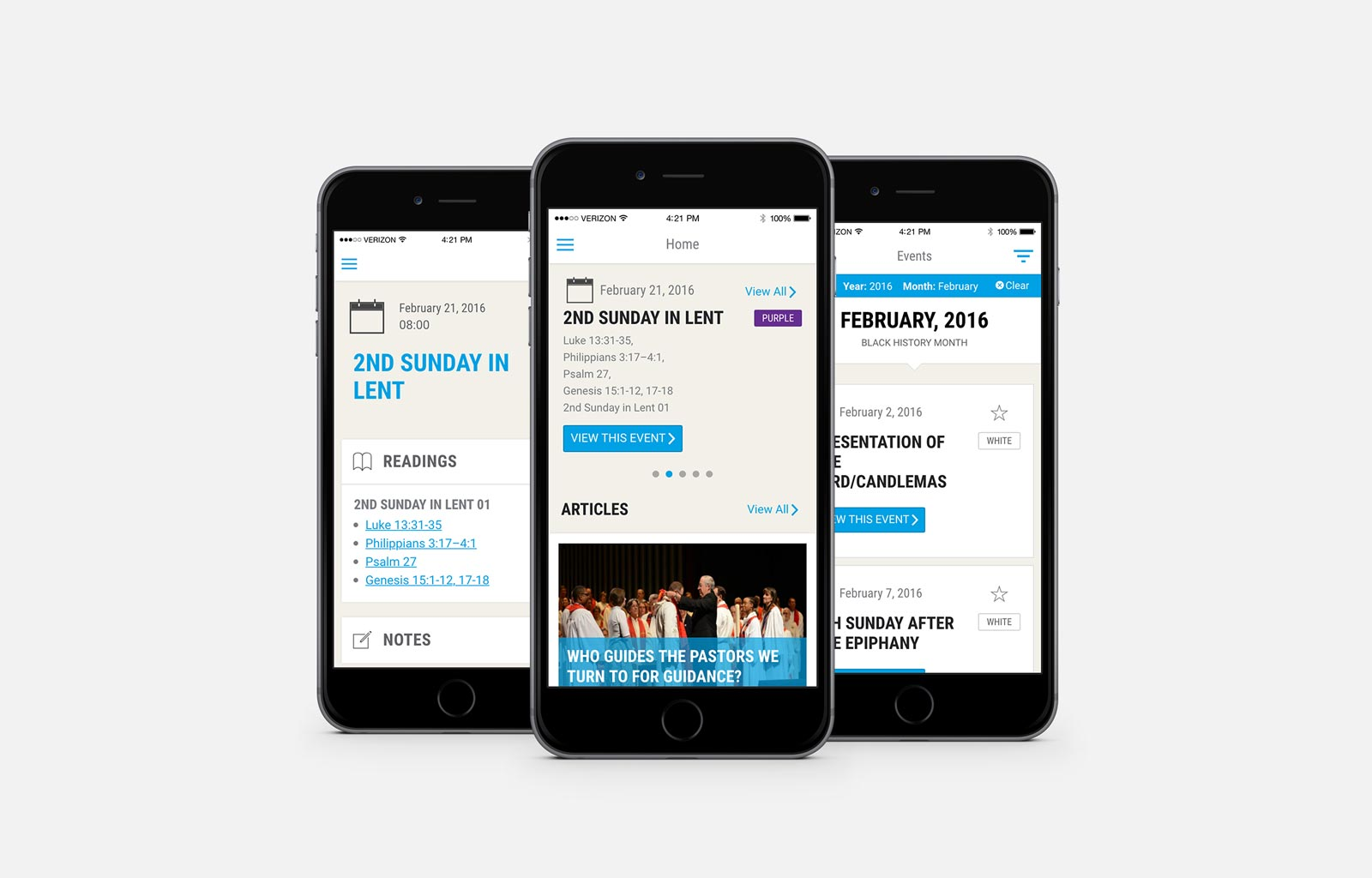 United Methodist calendar mobile app