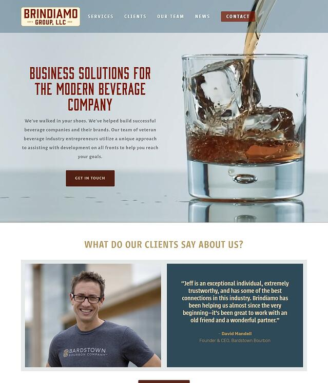 Business Development Website Design