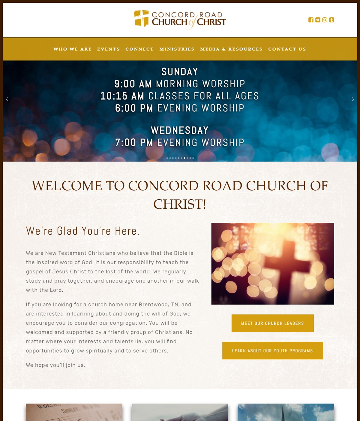 Church & Religious Organization Website Design