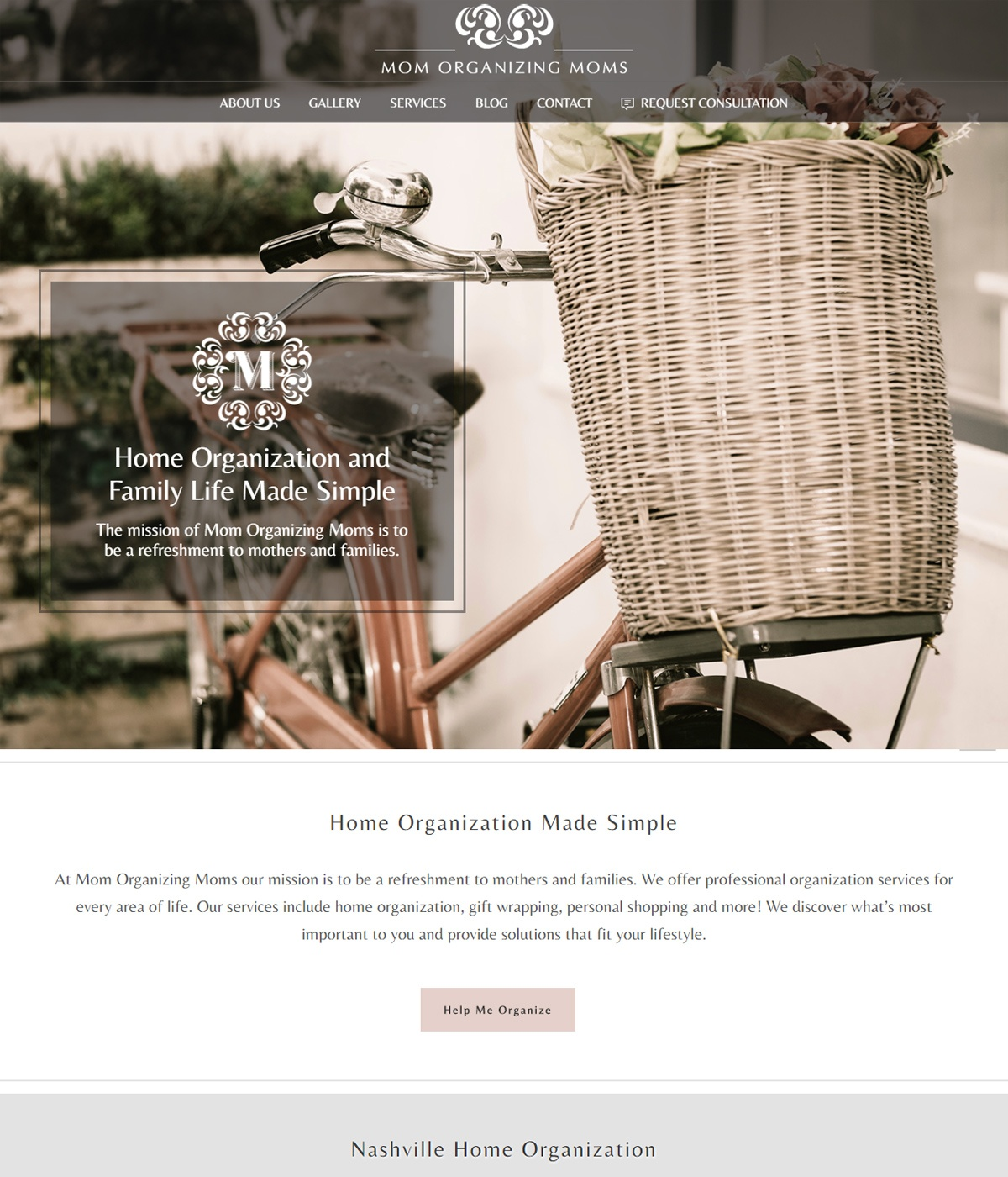 Home Services Website Design