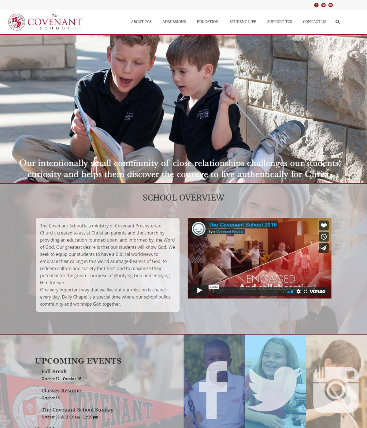 Private School Website Design