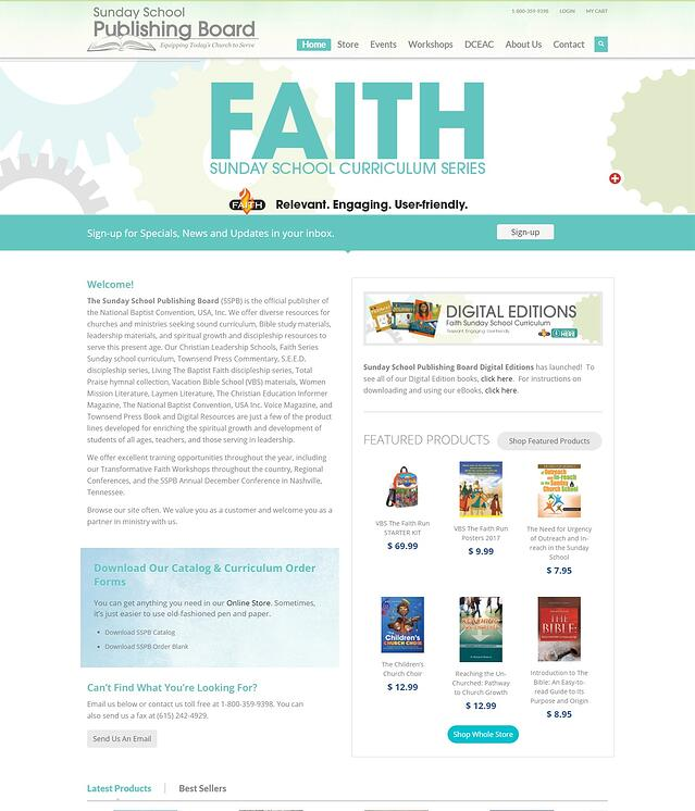 Religious Organization Website Development