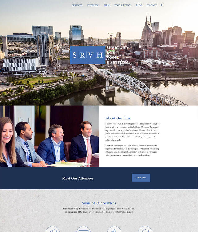 SRVH Sherrard Roe Voigt Harbison Websites for Attorneys