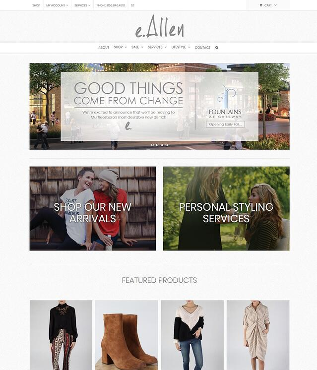 eCommerce Website Development for Retailers