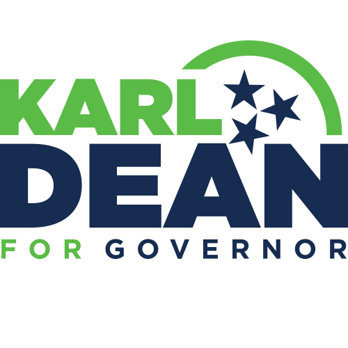 Karl Dean for Governor Logo Design