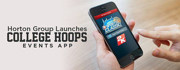 Horton Group Launches College Hoops Events App