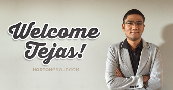 Tejas Chauhan Joins Horton Group as Inbound Strategist