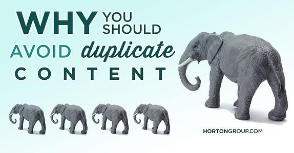 For Better SEO, Avoid the Duplicate Content Penalty
