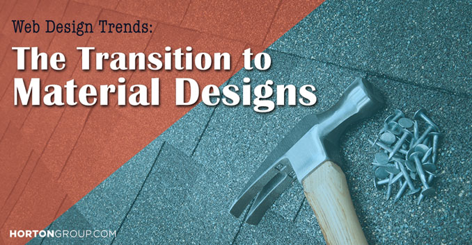 Web Design Trends: The Transition to Material Design