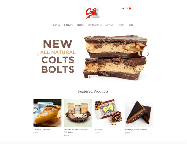Drupal to BigCommerce: Colts Chocolates Takes the Plunge