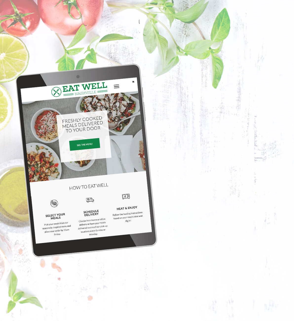Eatwell Web Design from Horton Brentwood Web Design
